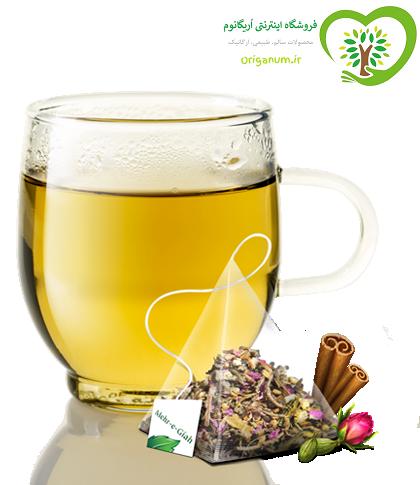 دمنوش گیاهی معطر – مهرگیاه – 14 تی بگ