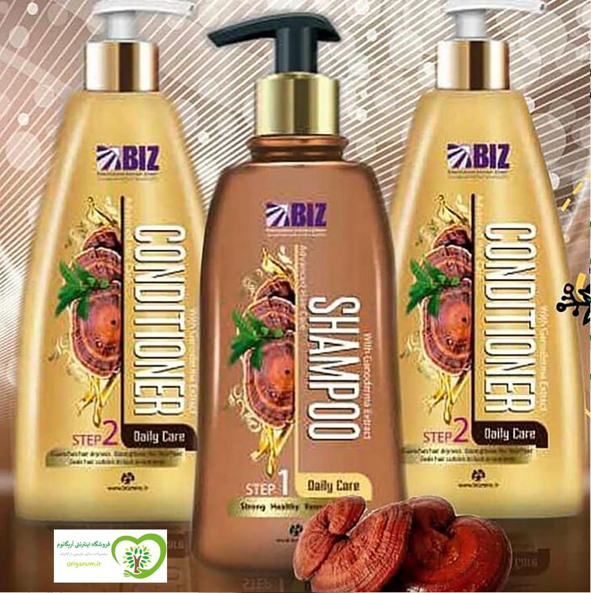 شامپو گانودرما دکتر بیز برای موهای خشک