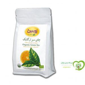 چای سبزبا برگ پرتقال ارگانیک زوبین
