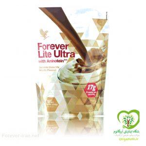 فوراور لایت اولترا با طعم شکلاتی 375 گرمی