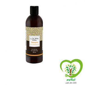 شامپو گیاهی لدورا هربال مناسب موهای خشک و آسیب دیده