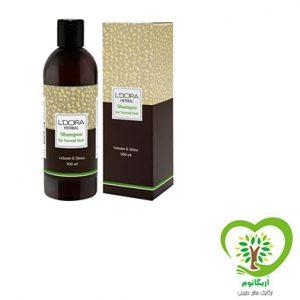 شامپو گیاهی مناسب موهای معمولی لدورا هربال