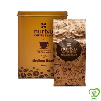 قهوه عربیکا نوریکسو(دانه قهوه بو داده ملایم عربیکا)-200 گرم