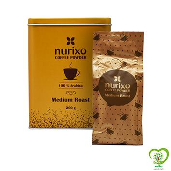 قهوه عربیکا نوریکسو(پودر قهوه بو داده ملایم عربیکا)-200 گرم