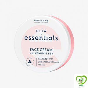 کرم صورت ویتامینه EوB3 گلو اسنشالز Essentials اوریفلیم